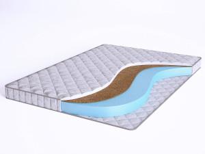 Матрас с Airfoam и с кокосом - Elastic Forma CF10 - Beautyson - чехол ХЛОПОК