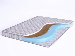 Матрас с Airfoam и с кокосом - Elastic Forma CF10S - Beautyson - чехол СИНТЕТИКА