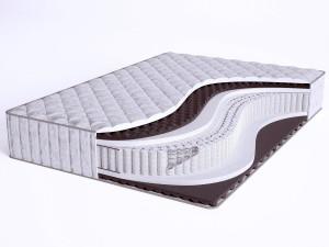 Матрас с массажным эффектом - Sense Fiber S1200 - Beautyson (пружины S1200 / чехол ХЛОПОК)