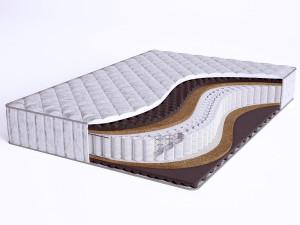 Матрас с массажным эффектом - Sense Hard S600 - Beautyson (пружины S600 / чехол ХЛОПОК)