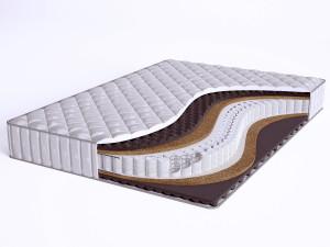Матрас с массажным эффектом - Sense Hard Synth S600 mini - Beautyson (пружины S600 / чехол СИНТЕТИКА)