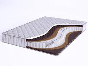 Матрас с массажным эффектом - Sense Medium S600 mini - Beautyson (пружины S600 / чехол ХЛОПОК)