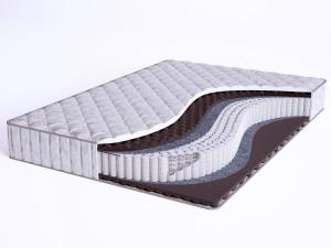 Матрас с массажным эффектом - Sense Soft S1200 - Beautyson (пружины S1200 / чехол ХЛОПОК)