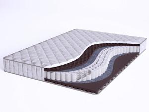 Матрас с массажным эффектом - Sense Soft S600 mini - Beautyson (пружины S600 / чехол ХЛОПОК)