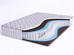 Матрас с массажным эффектом - Sense SuperSoft S600 - Beautyson (пружины S600 / чехол ХЛОПОК)