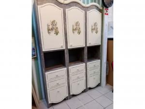 Набор мебели ДЖУЛИ - шкаф-пенал 3шт - тумба в подарок - (скидка 40%)