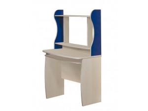 Прямой письменный стол с надстройкой - С-0719