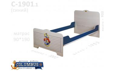 Кровать - 90*190, без ортопеда - С-1901