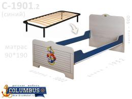 Кровать с ортопедическим основанием - С-1901-Orto