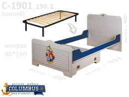 Кровать с ортопедическим осн. с доп. ящ. - С-1901-Orto-190