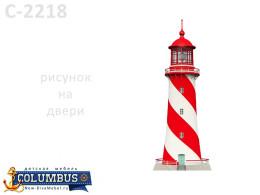 Угловой шкаф ЛЕВЫЙ - С-2218 L
