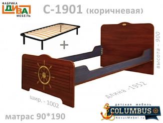 Кровать с ортопедическим основанием - С-1901.3-Orto