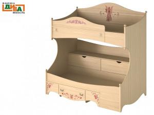 2-х ярусная кровать ART - ПРАВАЯ - N-1932R Art