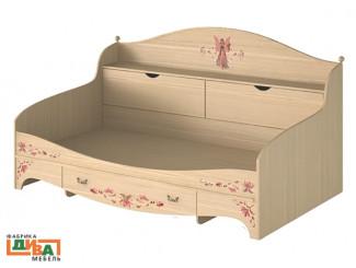 Детская кровать-тахта с ящиками - N-1922А Art