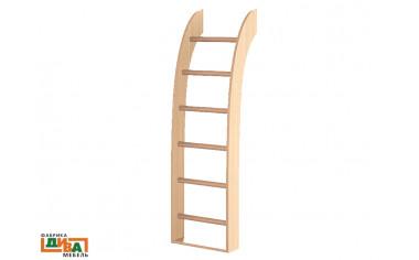 Лестница деревянная для 2-х ярусных кроватей - N-1933 (дуб)