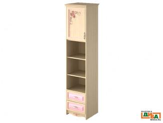 шкаф-пенал - 1 дв, 2 полки и 2 ящ - N-2252L Art (ЛЕВЫЙ)