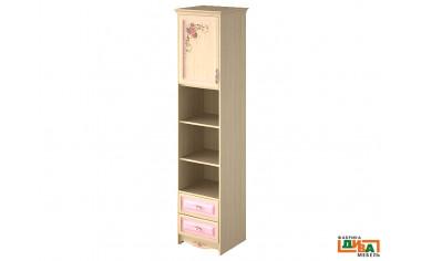 шкаф-пенал - 1 дв, 2 полки и 2 ящ - N-2252L Art