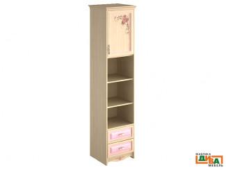 шкаф-пенал - 1 дв, 2 полки и 2 ящ - N-2252R Art (ПРАВЫЙ)