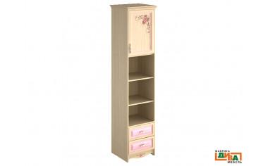 шкаф-пенал - 1 дв, 2 полки и 2 ящ - N-2252R Art
