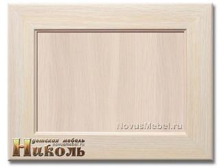 Трюмо с 5-ю ящиками и с овальным зеркалом - N-0505 (дуб) -  (скидка 30%)