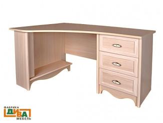 Угловой письменный стол - N-0716L (дуб)
