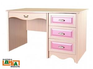 Письменный стол Art, с одной тумбой справа - N-0713 (roz)
