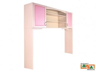 Шкаф-надстройка 2-х дверная - N-0614 (roz)