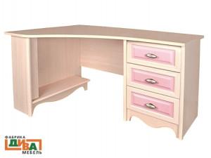 Угловой письменный стол - N-0716L (roz)