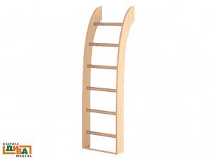 Лестница для 2-х ярусных кроватей - N-1933 (zel)