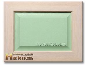 2-х дверный шкаф с полками - N-2212 (zel)