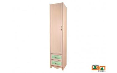 1-дверный шкаф с полками - N-2251 (zel)