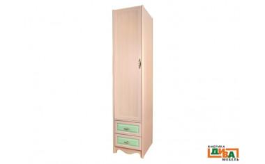 1-дверный шкаф со штангой - N-2251D (zel)