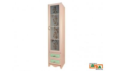 1-дверный шкаф со стеклом - N-2251G (zel)