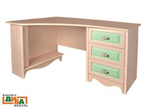 Угловой письменный стол - N-0716L (zel)
