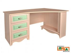 Угловой письменный стол - N-0716R (zel)