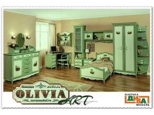 Кровать со спальным местом 120*200 - OL-19012 Art