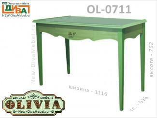 Туалетный столик с ящиком - OL-0711