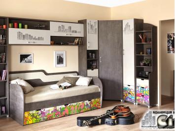 Мебель с граффити - Сити
