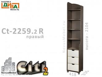 Стеллаж-окончание - Сt-2259.2 R