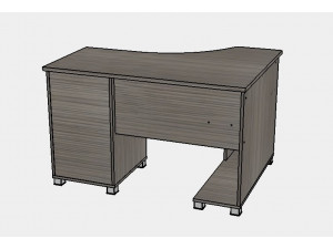 Угловой письменный стол - Сt-0716.2 L