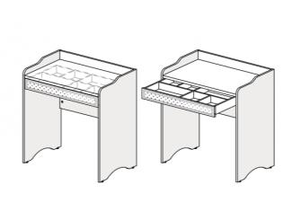 Стол туалетный с ящиком - 93s103