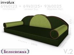 Кровать-тахта с 2-мя ящиками - 93к035