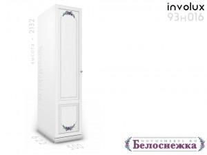 1-дверный шкаф со штангой - 93н016, ЛЕВЫЙ