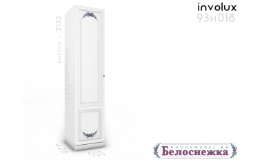 1-дверный шкаф 93н018