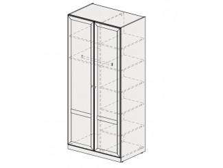 2-х дверный шкаф со штангой и полками СПРАВА - 93н074