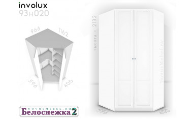 Угловой шкаф 93н020