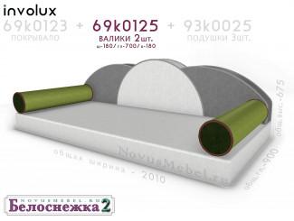 Подушки-валики 2шт., для кровати - 69к0125-2