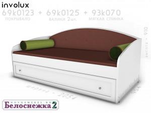 Мягкая спинка для кровати - 93к070.2