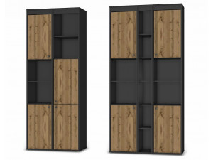 Стеллаж с 2-мя дверками - 118н002_0023