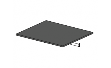 Полка и штанга для шкафа-купе - 118н0065